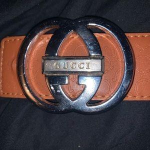 True Religion Belt w/ Gucci Pendant